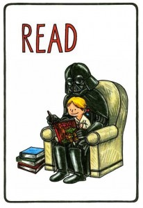 Parents should read with their kids. This is one of the best ways to develop good reading habits.